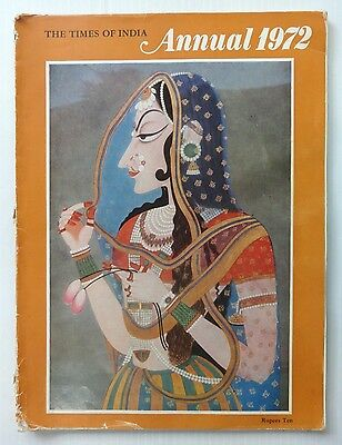 Vintage Magazine The Times Of India 1972 Annual Issue - well illustrated