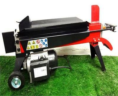 Hydraulic log splitter 6 ton wood timber cutter axe electric tree - 62-6 TON LOG