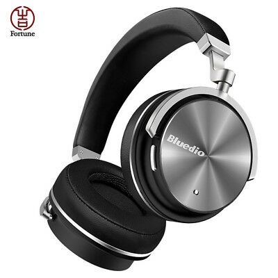 Bluedio T4S Active Noise Cancelling Wireless Bluetooth Headphones Headset + Mic