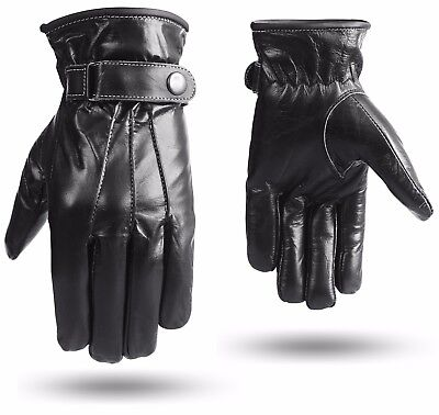 Real Leather Supple Gloves Horse Riding Fashion Mittens