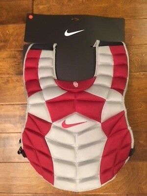 "Nike Adult DE3539 Baseball Catchers Chest Protector 16"" Multiple Colors & Teams"