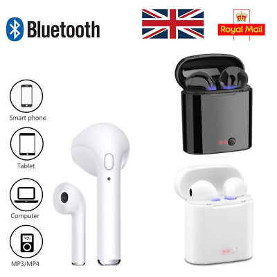 i7s Twins Wireless Bluetooth Earphone Earbuds For Apple iPhone X 7 8 6 Plus UK