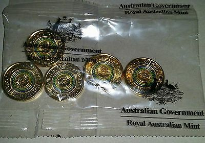 NEW - 2017 Australian Two Dollars $2 Anzac Lest We Forget Bag of 5 Unc MINT(R6)
