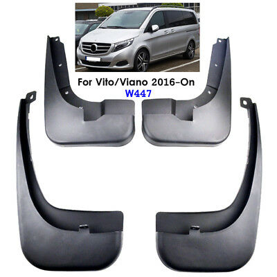 Set Mud Flaps For Benz Vito V Class W447 2016-2018 Metris Splash Guard Mudguards