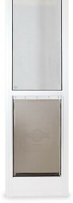 PetSafe 10-1/4 in. x 16-3/8 in. Large White Freedom Patio Panel (76 in. to 81