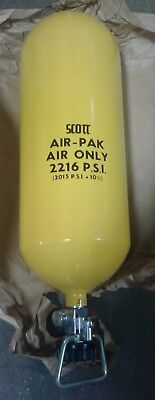 SCOTT AIR-PAK CYLINDER 2216 PSI. Our #2