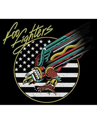 patch printed /Iron on patch, Back patch, Foo Fighters-trellis, new, B