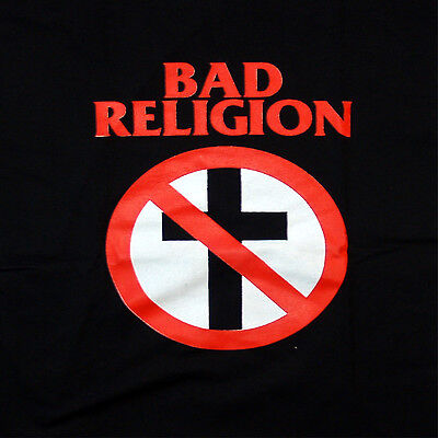 patch printed /Iron on patch,Back patch, Trellis, Sticker Bad Religion, TO