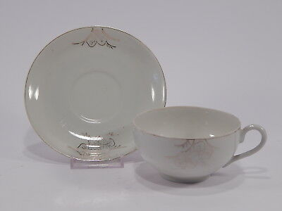 Antica Tazza E Piattino Porcellana Orientale Old Chinese Porcelain Cup+Saucer