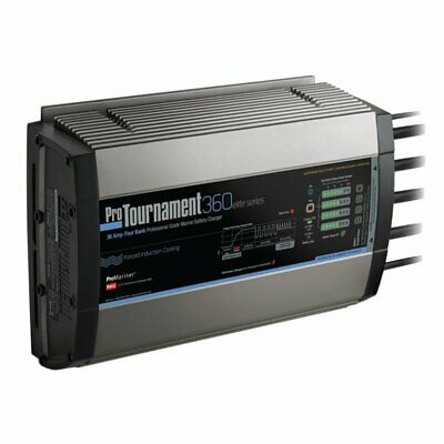 ProMariner ProTournament 360<i>elite</i> Quad Charger - 36 Amp, 4 Bank 52038