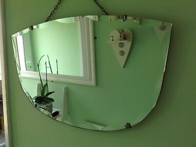 Beautiful Art Deco Bevelled Mirror