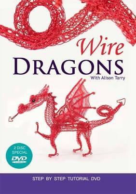 Wire Dragons with Alison Tarry Tutorial DvD 2 discs 160 minutes AT Designs 2015