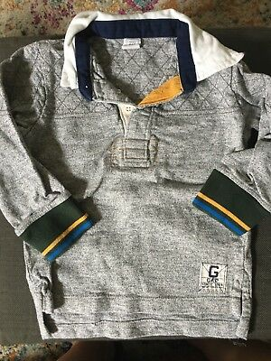 Baby Gap Toddler Boy Rugby Shirt Size 2 Years