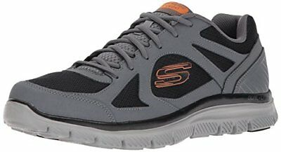 Skechers Flex Advantage 1.0-Zizzo, Sneaker Uomo, Blu (Navy/Blue), 41 EU
