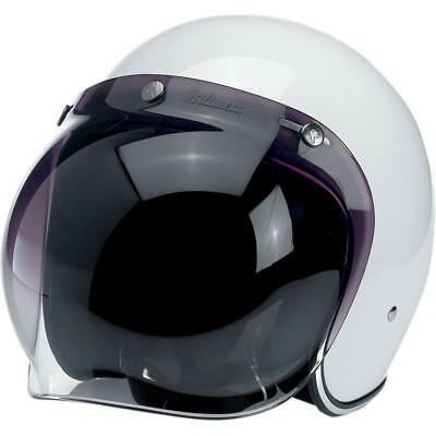 Biltwell Visier Polycarbonate Bubble Shield Gradient Smoke