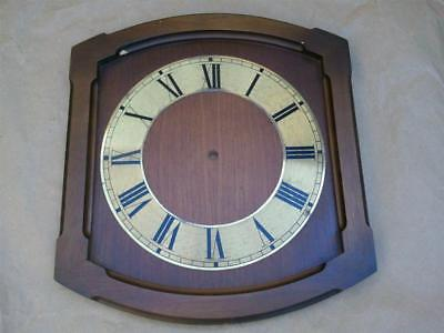 Vintage Hermle Wall Clock Face Dial Chapter Ring Spares Repair Decor