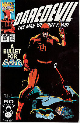 Daredevil #293 (Jun 1991, Marvel) The Punisher