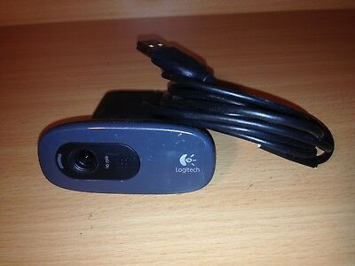Logitech c270 HD 720p computer camera with build-in mic,webcam, desktop, laptop