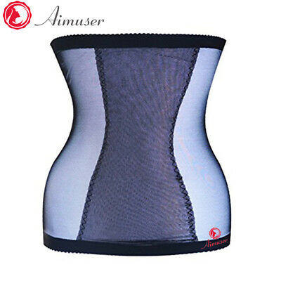 UK Invisible Compression Body Shaper Tummy Trimmer Waist Stomach Slimming Belt