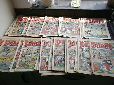 Dandy magazines bundle 47 comics from the 1980