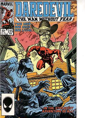Daredevil #215 (Feb 1985, Marvel)