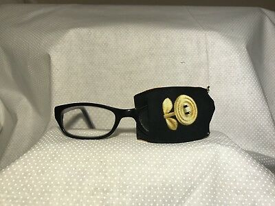 Eye patch for children and adults with lazy eye. Reusable non adhesive patch!