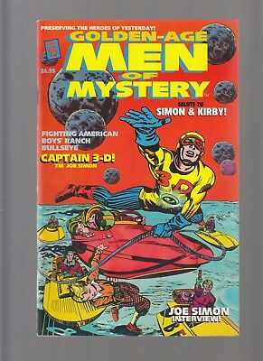 Men of Mystery 15 Captain 3-D Joe Simon Jack Kirby Tribute Golden Age Reprint NM