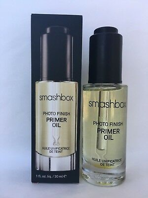 Smashbox Photo Finish Primer Oil 1 oz / 30ml New in Box Full Size