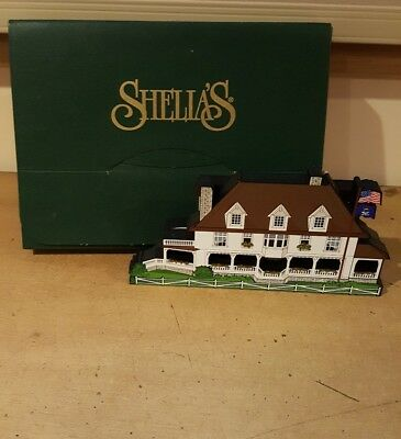 "Shelia's Governor's Summer Residence Mackinac Island Michigan MAK06 8"" x 4.25"""