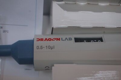 New Digital Micro Pipette/Pipettor, Single Channel, Adjustable Vol. 0.5-10 ul