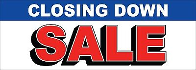 Closing Down Sale Banners, Sale Banners, Signs, Signage, Flag, Poster, Mega Sale