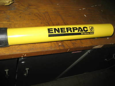 ENERPAC Cylinder,10 tons,14in. Stroke L, RC-1014 NEW IN BOX