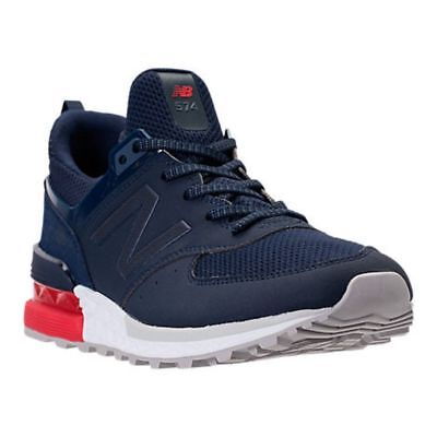 the latest 37179 6b44f NEW BALANCE 574 Sport Running Shoes Navy Red White Mens Size 10 NEW MS574SCO