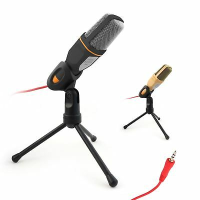 PC Studio Pro Condenser Microphone Recording Broadcasting Podcast MIC with Stand