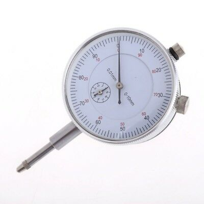 Dial Indicator Gauge 0-10mm Meter Precise 0.01 Resolution Concentricity Test M2A