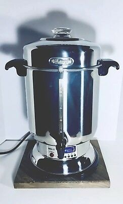 Delonghi Ultimate 20-60 Cup Coffee Maker Stainless Steel Commercial Coffee Urn!