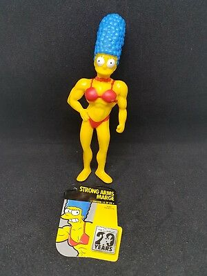 STRONG ARMS MARGE Limited Edition Figurine Collection Season 14 Ep The Simpsons