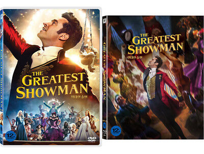 The Greatest Showman (2018) DVD / Blu-ray Slip Case Edition