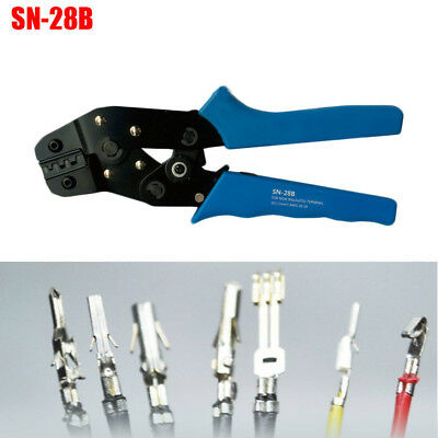 SN-28B Crimping Pliers Hand Crimper 2.54mm 3.96mm 28-18AWG 0.1-1.0mm² for Dupont