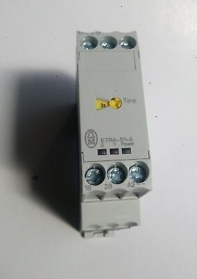 Moeller Time Delay Safety Relay Part No. Etr4-51-A