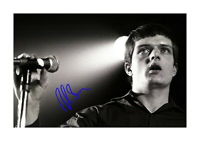 Ian Curtis Joy Division A4 signed photograph picture poster. Choice of frame.