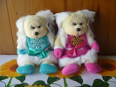 BEANIE KIDS RARE - Crystal the Bear Common and Mutation - BK397.