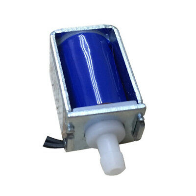 DC 12V Micro Electric Solenoid Valve N/C Normally Closed Water Air Valve Latest
