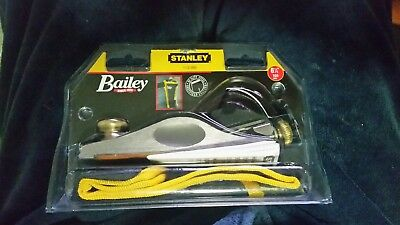 "New - STANLEY FULLY ADJUSTABLE PLANE 1-12-060 (6 1/4"" 160mm)"