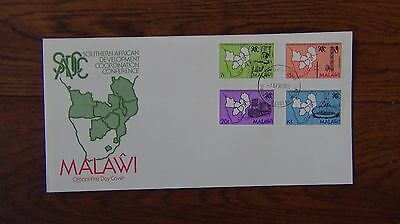Malawi 1985 5th Anniversary of Southern African Development set First Day Cover
