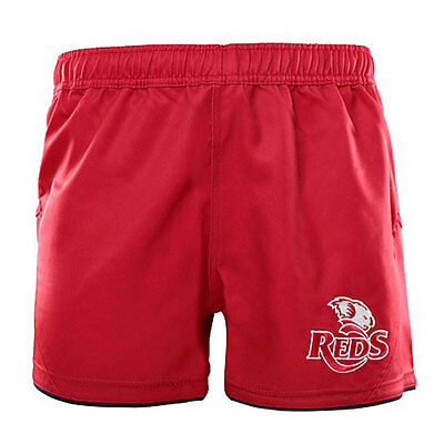 QLD Reds 2016 Onfield Shorts Sizes 2XL - 3XL  **SALE PRICE**