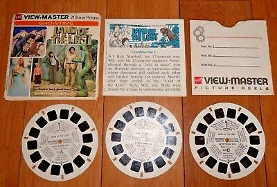 Land Of The Lost 1974 Viewmaster Reels Set B579 - Vintage / Original / Rare