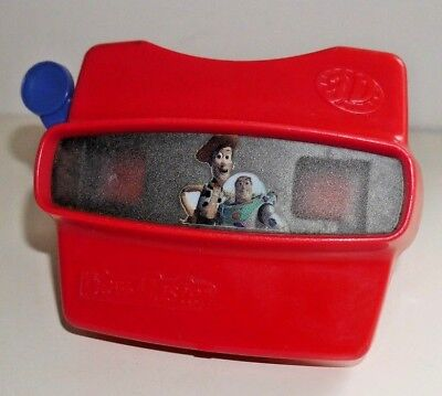 Toy Story Viewmaster Viewer Fisher Price 1998 Red Model L Rare Retro Toy   A880