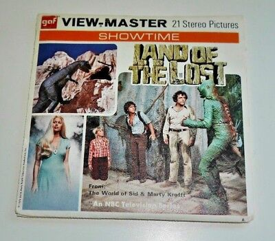 Land Of The Lost Nbc Tv 1974 Viewmaster Reels Set B579 - Vintage & Rare  B073