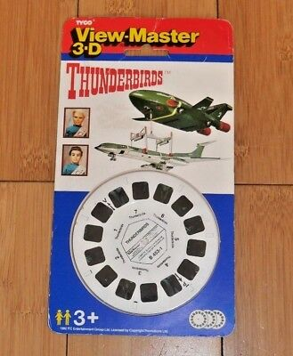 * Sealed * Thunderbirds Gerry Anderson Viewmaster Reels B453 Tyco 1992 Rare B232